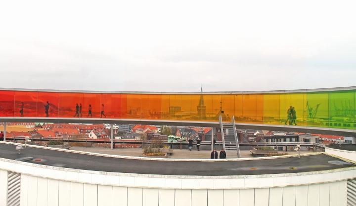 The Rainbow panorama is a brainchild of Olafur Eliasson
